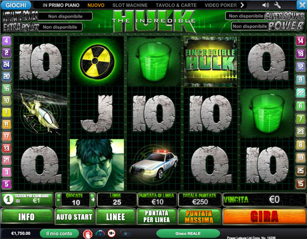 slot machine online con Jackpot